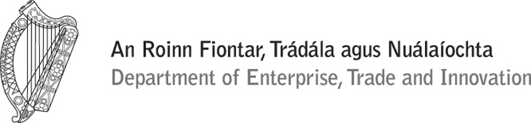 Supported by the Department of Enterprise, Trade, and Innovation