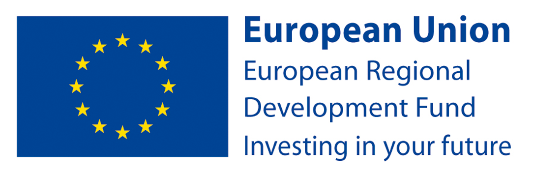 Supported by the European Regional Development Fund